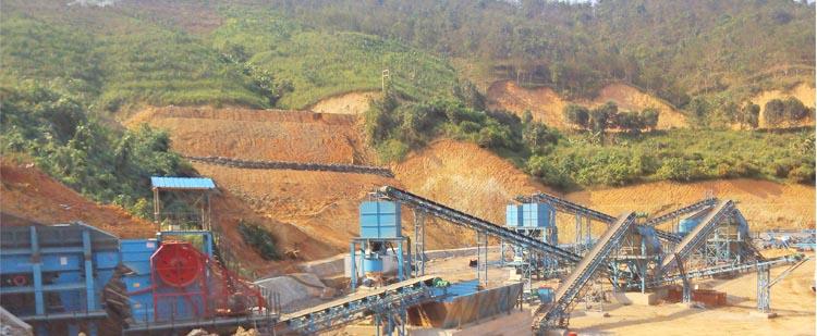 时产60吨石灰石/白云岩砂石骨料生产线