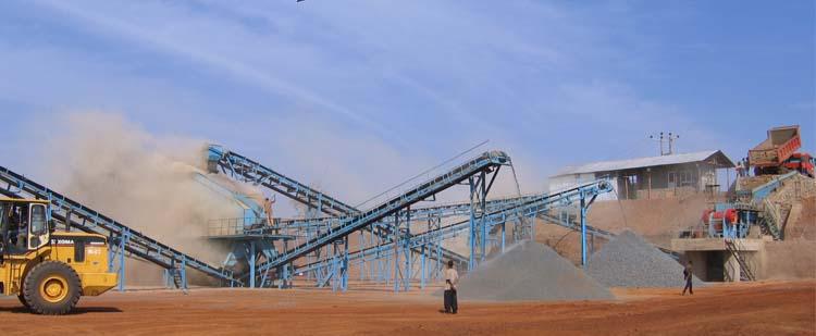 时产300吨石灰石/白云岩砂石骨料生产线
