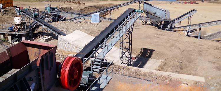 时产400吨石灰石/白云岩砂石骨料生产线