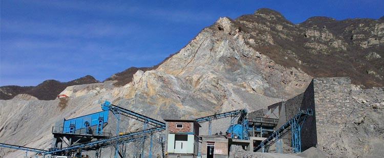 时产800吨石灰石/白云岩砂石骨料生产线