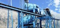 时产100吨石灰石/白云岩砂石骨料生产线