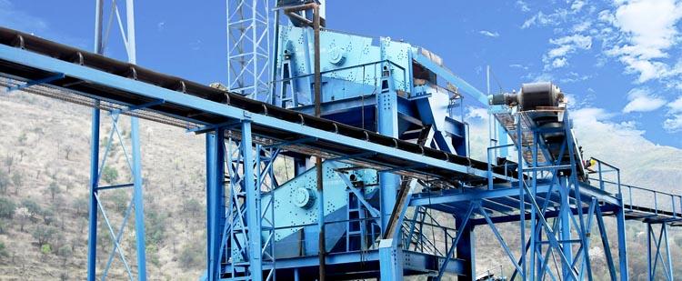时产100吨花岗岩/玄武岩砂石骨料生产线