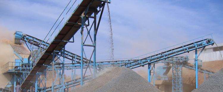 时产500吨花岗岩/玄武岩砂石骨料生产线