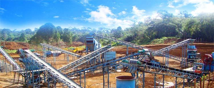 时产1000吨石灰石/白云岩砂石骨料生产线