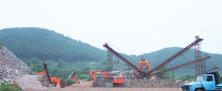 时产300吨花岗岩/玄武岩砂石骨料生产线