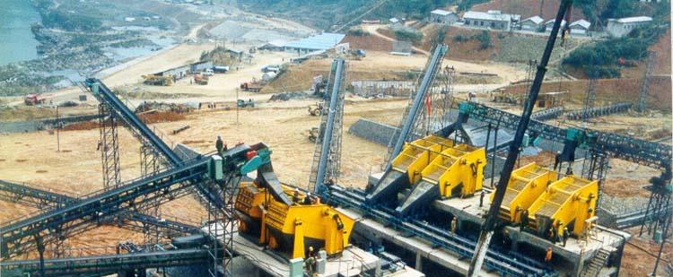 时产400吨花岗岩/玄武岩砂石骨料生产线