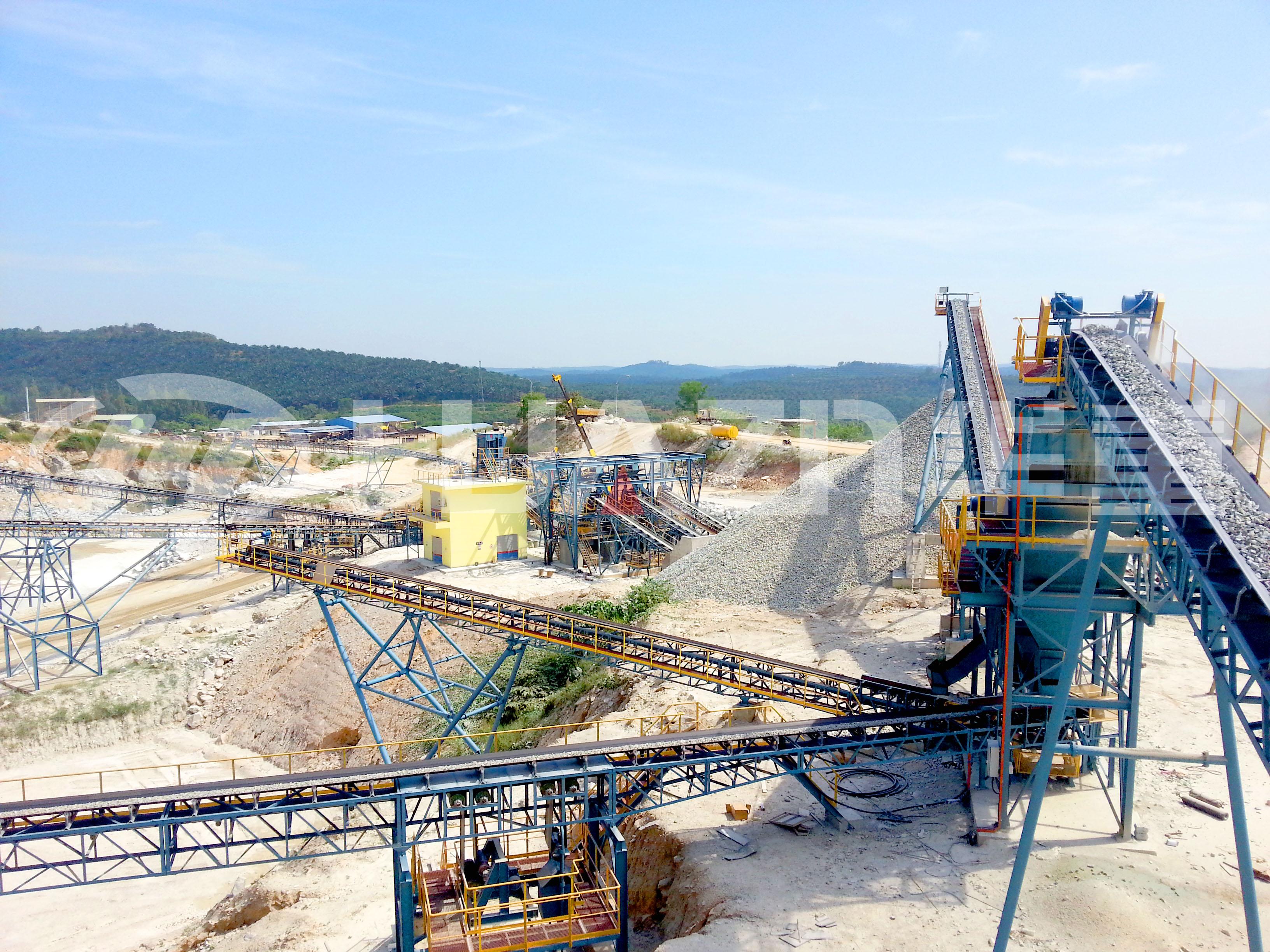 矿山开采破碎设备