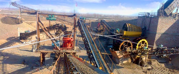 时产60吨花岗岩/玄武岩砂石骨料生产线